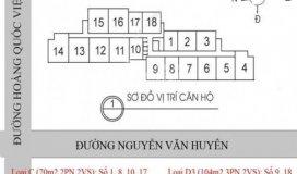 Chính chủ bán căn hộ 60 Hoàng Quốc Việt, diện tích 100m2, giá 30.5 tr/m2.