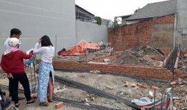 Gia đình gặp khó khăn nên bán gấp lô đất trả nợ 4x16m, 500tr, shcc, ngay đường thới hòa, bình chánh