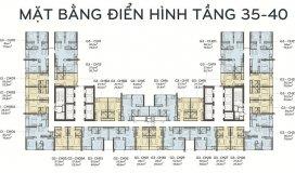 Chính chủ cần bán căn hộ 61,5m2, Vinhomes Green Bay Mễ Trì, giá 2,1 tỷ, LH 0981657433.
