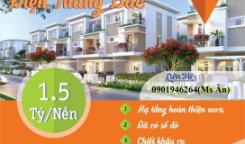 Đất nền Nam Đà Nẵng đã có sổ gần trạm thu phí Điện Bàn dt từ 100-130m2 giá từ 1-1ty8(0901946264)