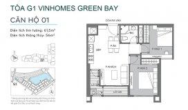 Chính chủ cần bán căn 2 ngủ, 1 ngủ, giá tốt nhất Vinhomes Green Bay, 2 tỷ 2 bao phí, LH 0983657433.