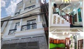 Bán nhà gần white palace đường phạm văn đồng, gần ngã tư bình triệu 4 tầng 4pn giá từ 4 tỷ/ căn.
