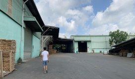 Cho thuê xưởng tân phước khánh tân uyên 8000m xưởng 6500m sản xuất gỗ phun sơn ok. giá 2,4$