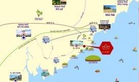 đất gần biển lagi, bình thuận, gần khu nghỉ dưỡng nổi tiếng, shr, 680triệu/1000m2, lh:
