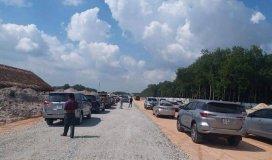 Bán đất ngay khu phố 2 thị xã Chơn Thành , Bình Phước