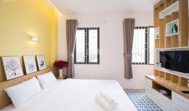 30 căn hộ happy home full tiện nghi mới 100%, dt 30m2 - 40m2, 8 tr/th ở được 4 người. lh