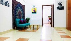 Căn hộ 2pn full nội thất, khu trung tâm, nhà đẹp mang phong cách yoga, lh