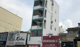 Cho thuê tòa nhà 2 mặt tiền 441 hai bà trưng, góc trần quang khải, quận 1