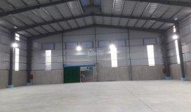 Cho thuê xưởng mới xây dựng dt:2500m2 giá 90tr/tháng ở đường tch10 ,p.tân chánh hiệp quận 12