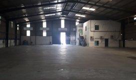 Cho thuê xưởng ngã 3 đông quang q12, dt 1100m2, giá: 65tr/th, container đậu trước cửa