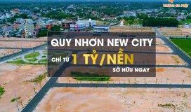 ĐẤT NỀN QUY NHƠN MỞ BÁN GIAI ĐOẠN 1 DỰ ÁN KHU ĐÔ THỊ QUY NHƠN NEW CITY