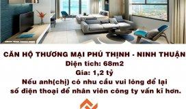 Bán căn hộ chung cư Phú Thịnh Plaza Ninh Thuận - sở hữu ngay căn hộ thương mại cao cấp 100% view biể