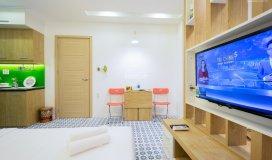Studio full nội thất cao cấp 30m2, hồ văn huê, phú nhuận, giá chỉ 8tr/th , lh