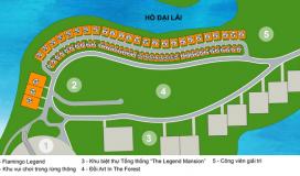 Chỉ từ 3,2 tỷ đồng là có thể sở hữu ngay biệt thự tại bán đảo nam của dự án Flamingo Đại Lải