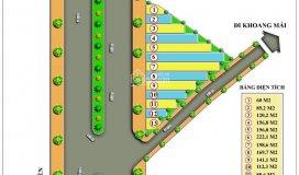 Bán đất thổ cư mặt đường đối diện nhà máy in tiền khu cnc hòa lạc, diện tích 222m2, giá 14tr/m2