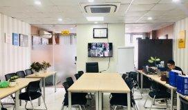 Cho thuê văn phòng setup full tiện ích tại 66a măt phố trần thái tông - quận cầu giấy chỉ từ 14,5tr