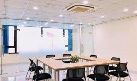 Cho thuê văn phòng full nội thất mặt phố trần thái tông - quận cầu giấy